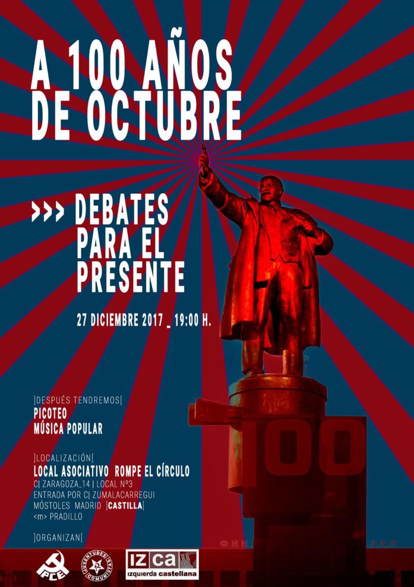 charla revolucion octubre mad