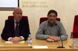 A la derecha, el zamorano Hermenegildo Marcos, vocal de Atención Primaria de Castilla y Léon.