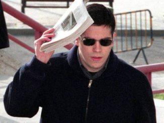 Ignacio Racionero, hace 20 años a su llegada a la Audiencia Provincial de Madrid para el juicio por la muerte de Aitor Zabaleta.