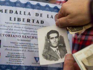 Homenaje del Foro por la Memoria de Guadalajara a Victoriano Sánchez