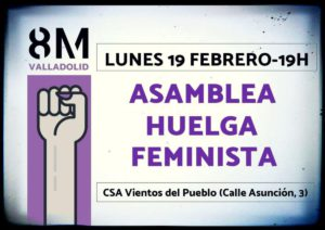 Valladolid: Asamlea Huelga Feminista