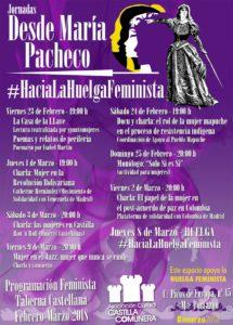 Desde María Pacheco #HaciaLaHuelgaFeminista